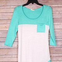 Spring top from Ritzy Gypsy Boutique