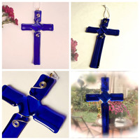 Decorative Cross - Glass Cross
