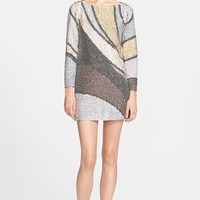 Women's MARC JACOBS Embroidered Sequin Tunic Dress