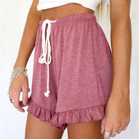 Chic Frill Shorts | SABO SKIRT