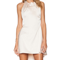 Cameo About Dress in Beige
