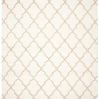 Dhurries Contemporary Indoorarea Rug Ivory / Camel