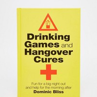 Drinking Games & Hangover Cures Book at asos.com