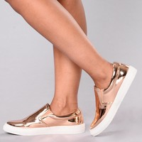 Best Foot Forward Sneakers - Rose Gold