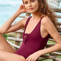 MALAI Merlot One Piece - Size Small
