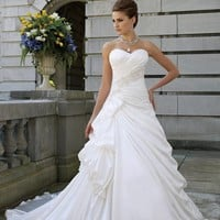 2013 NEW Sexy Sweetheart Wedding Dress Bridal Gown STOCK Size UK 6-8-10-12-14-16