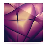 """Ingrid Beddoes """"Paper Heart"""" Luxe Square Panel"""