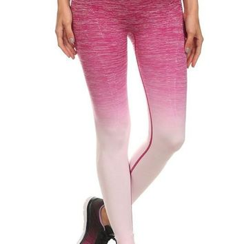 Know Yourself Ombre Leggings
