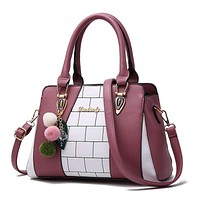 2020 new fashion handbags fashion women's bags and bags of leisure on behalf of a single shoulder bag