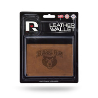 Baylor Bears Leather Embossed Trifold Wallet