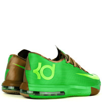 """Nike - Mens Shoes - Basketball - Nike KD VI - """"Bamboo"""" Gamma Green Flash Lime - DTLR -  Down Town Locker Room. Your Fashion, Your Lifestyle!"""