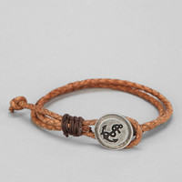 Urban Outfitters - Drop Anchor Leather Bracelet
