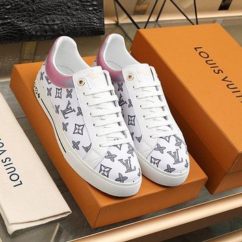 lv louis vuitton womans mens 2020 new fashion casual shoes sneaker sport running shoes 348