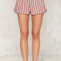 Oui Babes Striped Shorts