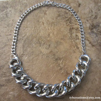 SPECIAL Silver Chunky Chain Necklace