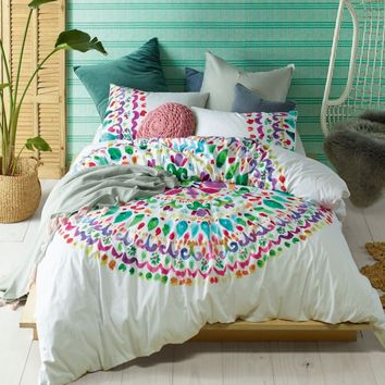 Loving Life Quilt Cover Set by Accessorize