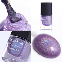 Born Pretty Holographic Holo Glitter Nail Polish Hologram Effect Varnish for Nails 9#