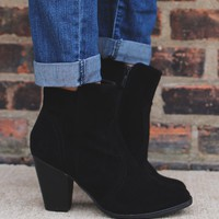 Finishing Touches Bootie - Black