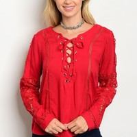 107-4-3-T1230270 RED TOP 2-2-2