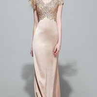 Sequin Sparkling Lace Party Gown