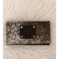 LV Large Wallet Cowhide