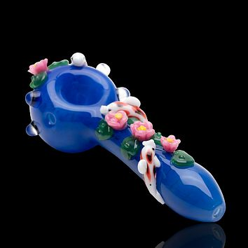 Empire Glassworks Koi Pond Glass Pipe - Large