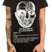Zombie Definition Girls T-Shirt