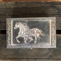 Punched Tin Horse Box