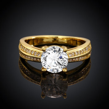 Romantica Gold Plated Ring