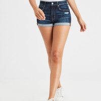 AE Ne(X)t Level Super High-Waisted Shortie, Midnight Dreamer