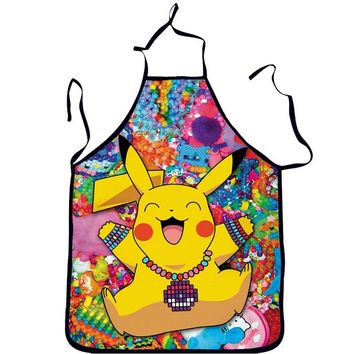 Happy Pikachu Cooking Apron