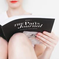 The Paris Journal - A Visual Diary of a Day in Paris, Signed copy by Evan and Nichole Robertson, Paris Photography, Travel Photography