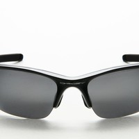New Oakley OO 9144 9144/01 Polished Black Frame Black Iridium Lens Sunglasses 62