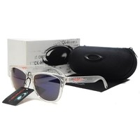 READY STOCK Oakley Original Unisex Sunglasses Frogskins White Eyeglasses  1