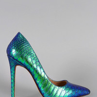 Mermaid Kiss Heels