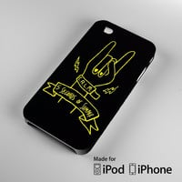 5SOS Rock Hand iPhone 4S 5S 5C 6 6Plus, iPod 4 5, LG G2 G3, Sony Z2 Case