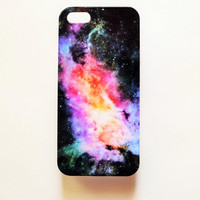 iPhone 5 Case Cover Universe Stars iPhone 5s Galaxy Hard Back Cover For iPhone 5 Slim Nebula Design Case