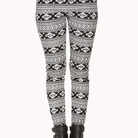 Wintertime Southwestern Leggings