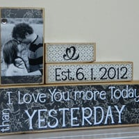 Personalized Wedding gift/Decoration Happily Ever After wedding, shower, anniversary, birthday gift