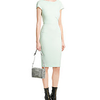 Roland Mouret - Tailored Wool Crepe Dress