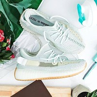 Adidas Yeezy Boost 350 V2 New Fashion Casual Couple Sneaker Shoes White