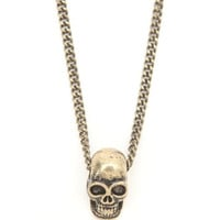 Afends Skull Necklace at PacSun.com