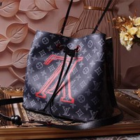 LV Louis Vuitton MONOGRAM CANVAS DANUBE HANDBAG SHOULDER BAG