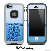Running Water Skin for the iPhone 5 or 4/4s LifeProof Case