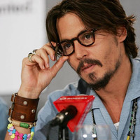 JOHNNY DEPP style leather bracelet genuine leather wristband first class leather cuff men's bracelet brown