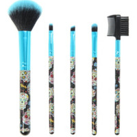 Sugar Skull Cosmetic Brush Set