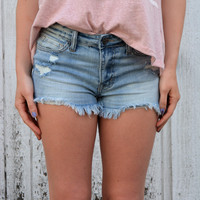 Summer Charmer Denim Shorts