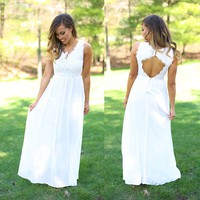Angelic Beauty Maxi Dress