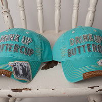 "Gina Cap ""Drink Up ButterCup"""