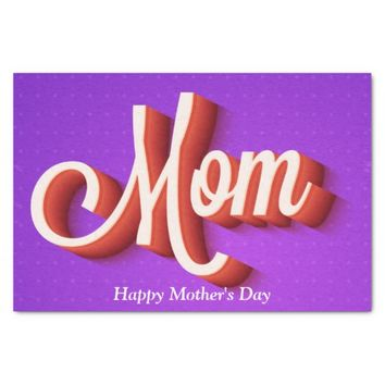 Mom's Day Tissue Paper